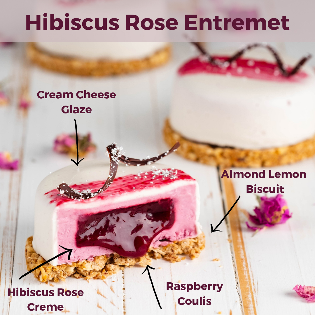 Hibiscus, Raspberry & Rose Semi Fredo