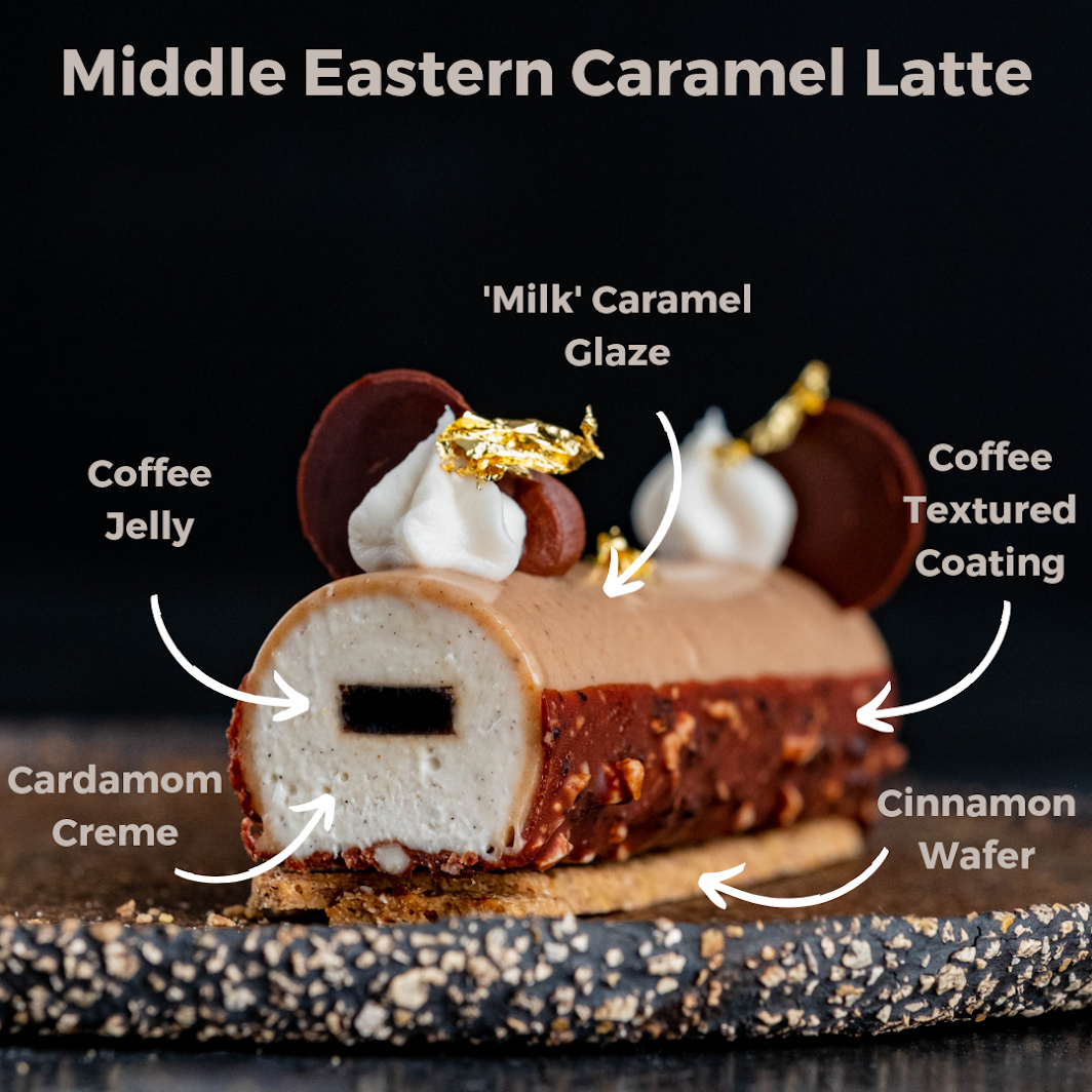 Middle Eastern Caramel Latte