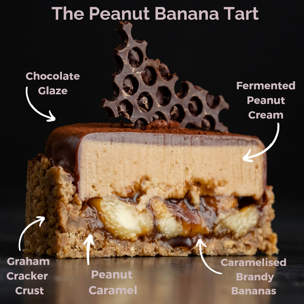 The Peanut Banana Tart