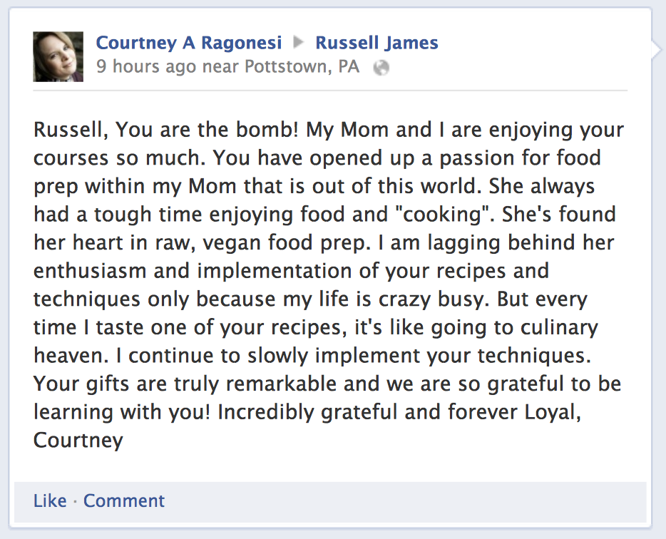 Courtney Testimonial