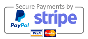 Paypal and Stripe Logos