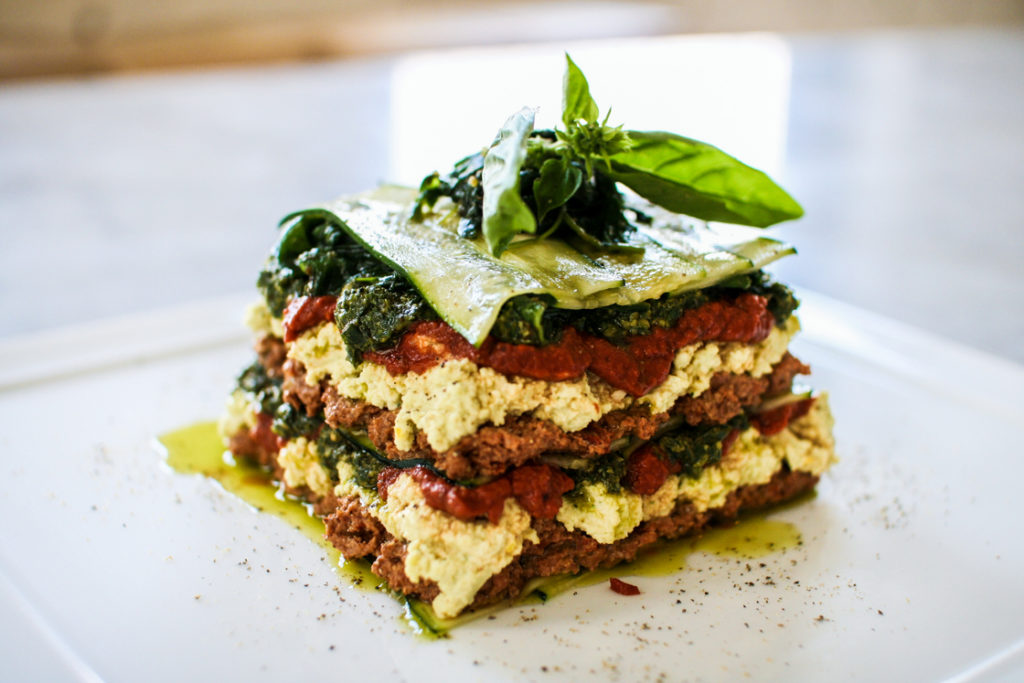 Raw Vegan Lasagne A Raw Food Recipe By The Raw Chef