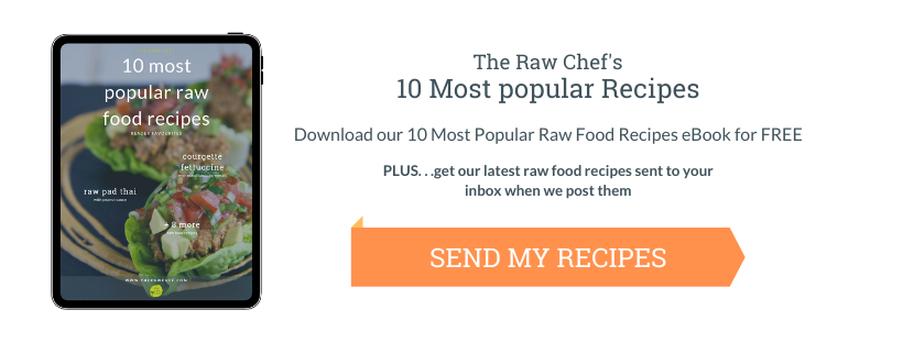 10 Most Popular Raw Food Recipes Free eBook