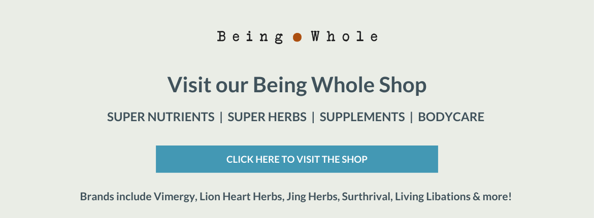 Visit Our Being Whole Shop