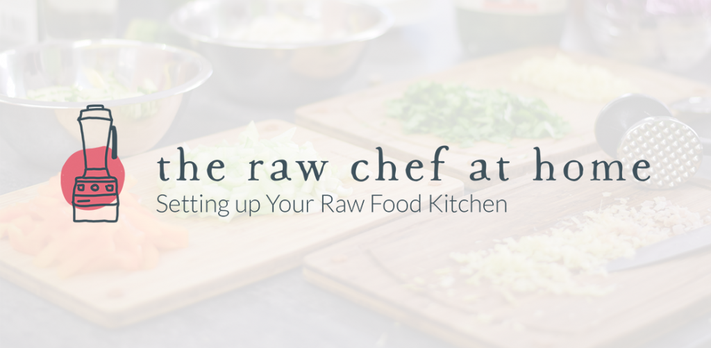 The Raw Chef at Home raw kitchen logo