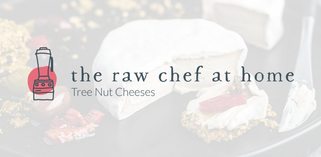 The Raw Chef at Home Tree Nut Cheeses logo