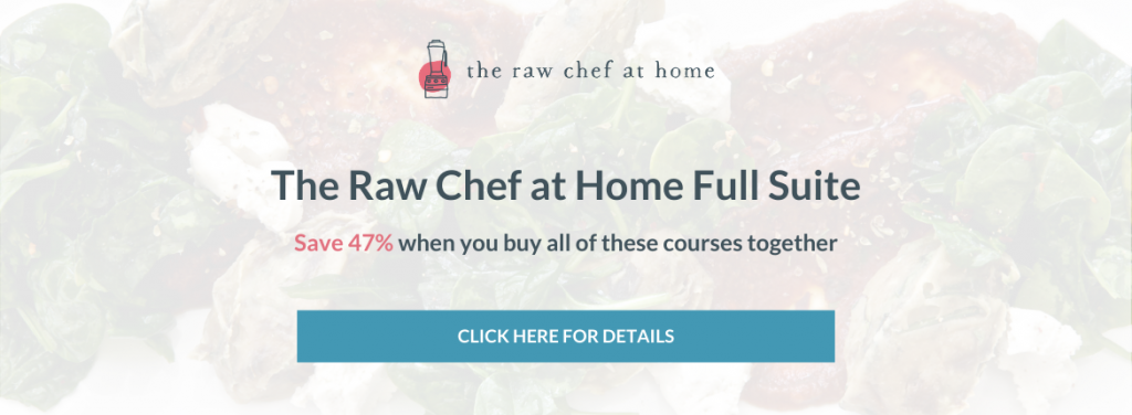 The Raw Chef at Home Full Suite Bundle